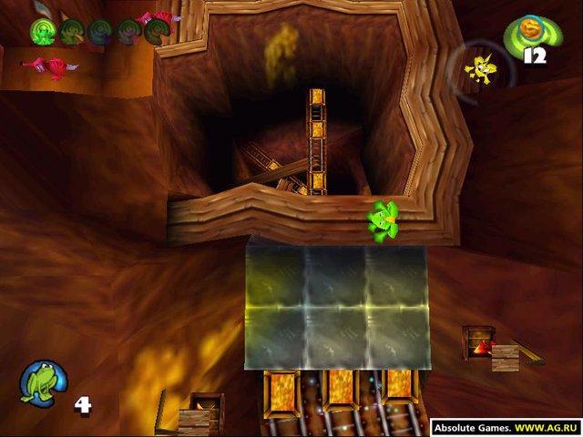 Frogger 2: Swampy's Revenge screenshot