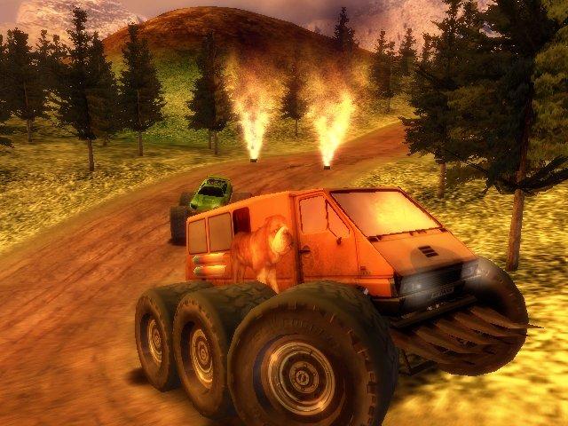 Монстры на колесах: Большие гонки screenshot