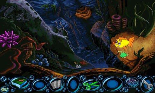 Freddi Fish 2: The Case of the Haunted Schoolhouse screenshot