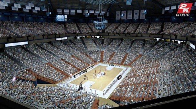 College Hoops 2K8 screenshot