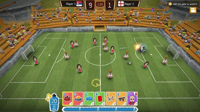 Crazy Soccer: Football Stars screenshot