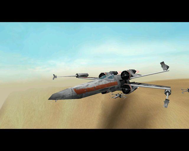 STAR WARS: Rogue Squadron 3D screenshot