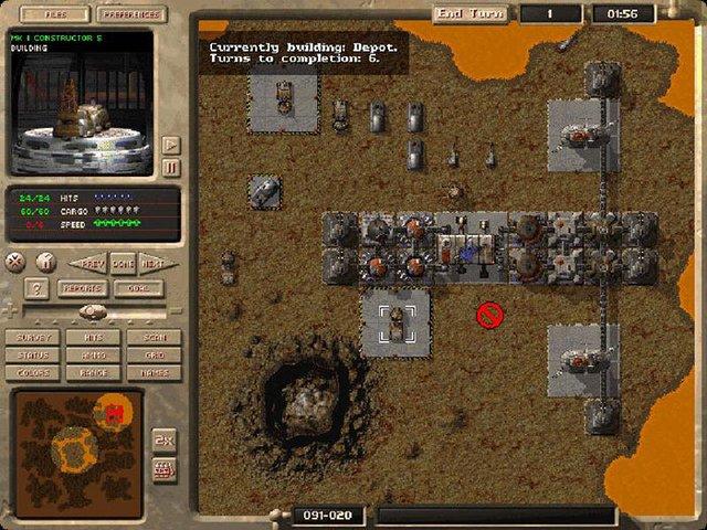 M.A.X.: Mechanized Assault & Exploration screenshot