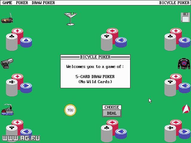 Bicycle Poker screenshot