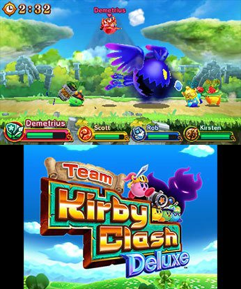 Team Kirby Clash Deluxe screenshot