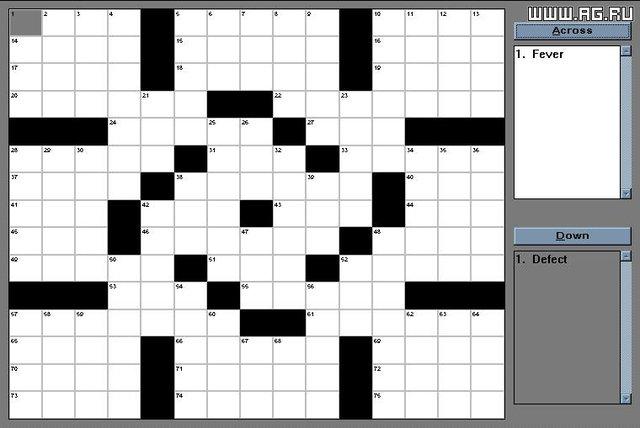 Super Crossword screenshot