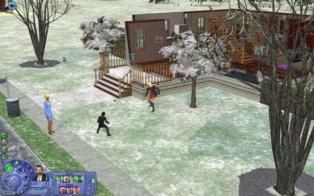Sims 2: Времена года, The screenshot