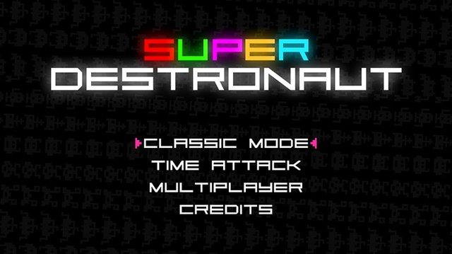 Super Destronaut screenshot