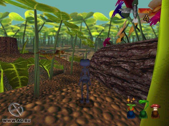 Bug's Life, A screenshot