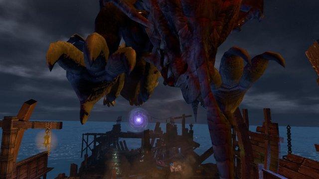 Guardian war VR screenshot