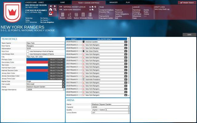 Franchise Hockey Manager 2 screenshot