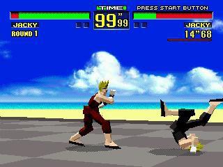 Virtua Fighter screenshot
