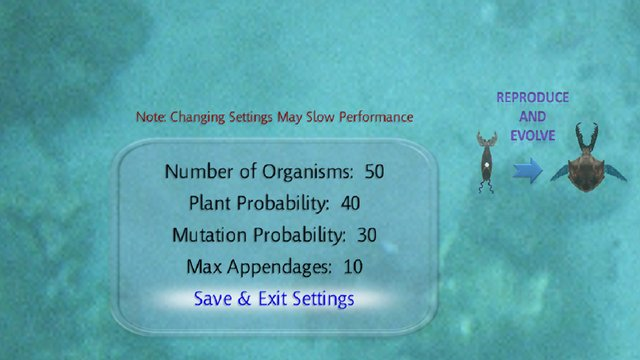 Evolution II: Fighting for Survival screenshot