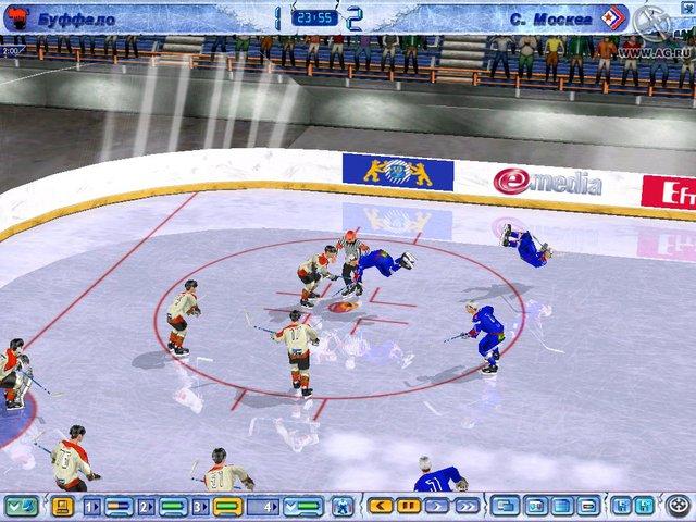 Лучшие из лучших. Хоккей 2005 screenshot