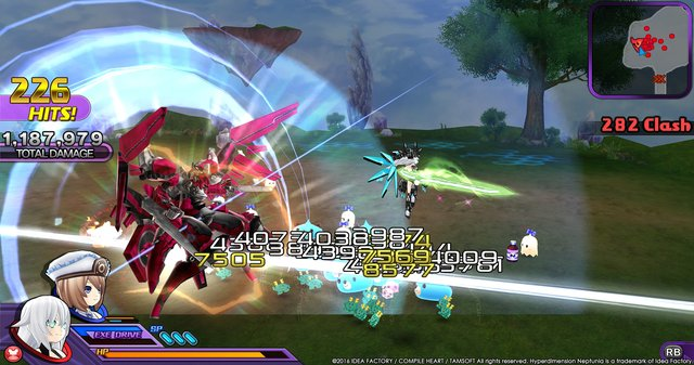 Hyperdimension Neptunia U: Action Unleashed screenshot