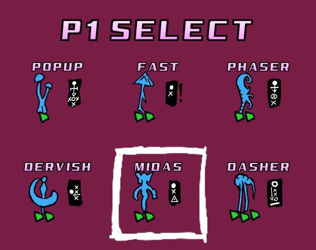 P1 Select screenshot