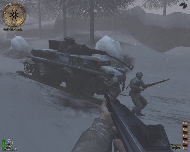 Medal of Honor Allied Assault: Spearhead screenshot