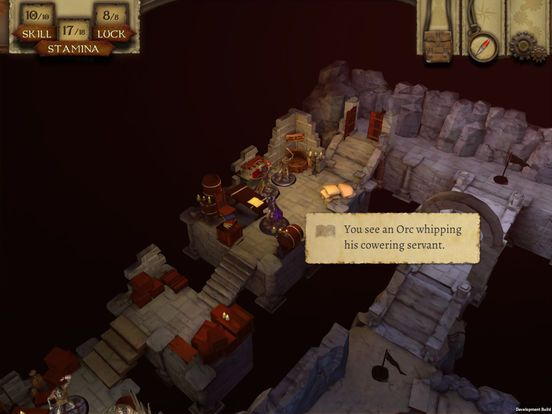 The Warlock of Firetop Mountain screenshot
