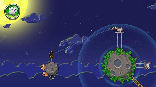 Angry Cats Space screenshot