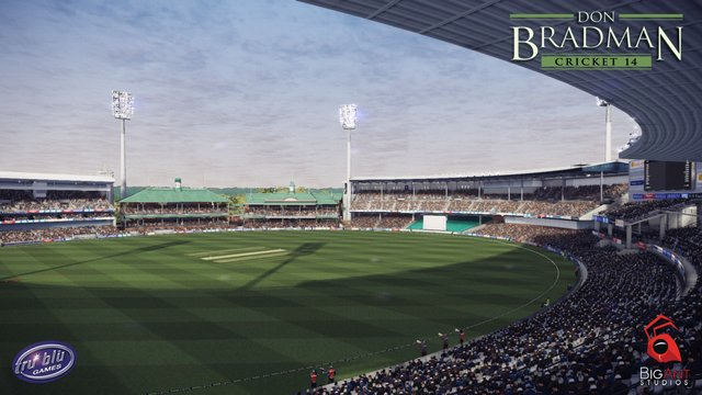 Don Bradman cricket 14 screenshot