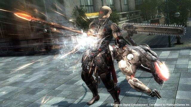 Metal Gear Rising: Revengeance - Blade Wolf screenshot