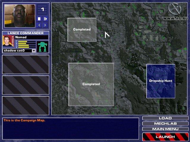 MechWarrior 4: Vengeance screenshot