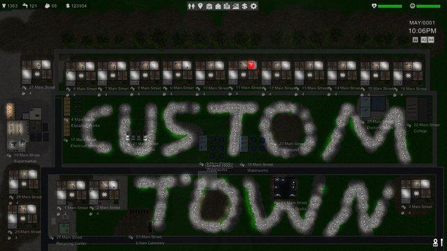 Custom Town screenshot