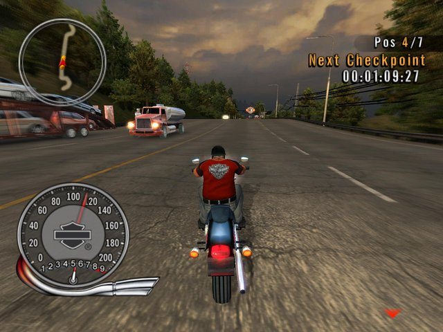 Harley-Davidson: Race to the Rally screenshot
