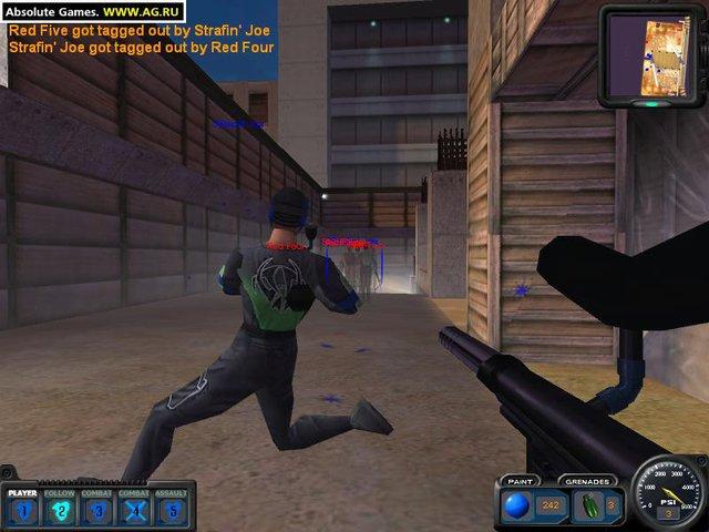 Extreme Paintbrawl 4 screenshot
