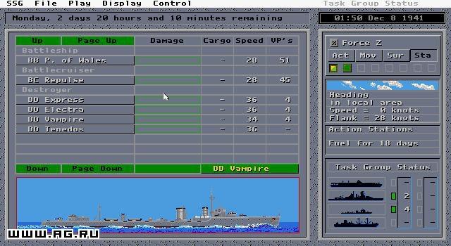 Carriers at War 2 screenshot