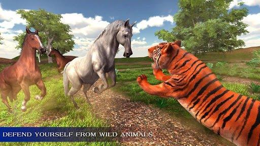 Virtual Wild Horse Family Sim: Animal Horse Games screenshot