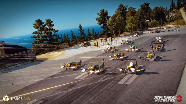Just Cause 3: Multiplayer Mod screenshot