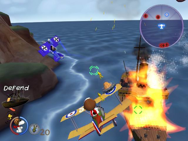 Snoopy Versus the Red Baron screenshot