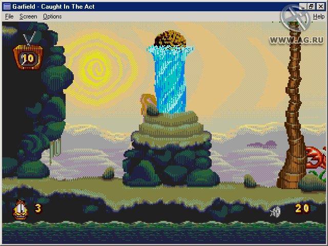 Garfield: Caught in the Act screenshot