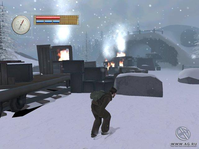Падение ястреба. В тылу врага screenshot