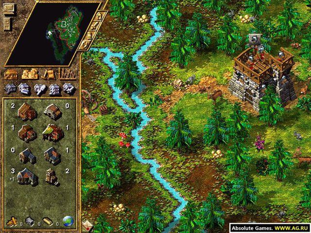 The Settlers 4 screenshot