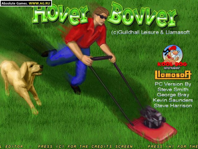 Hover Bovver screenshot