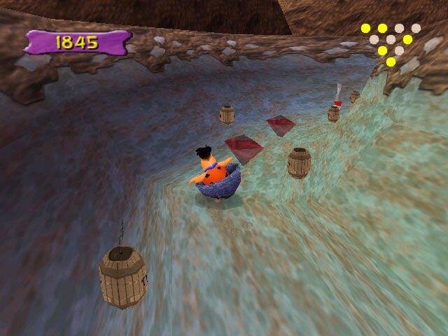 The Flintstones: Bedrock Bowling screenshot