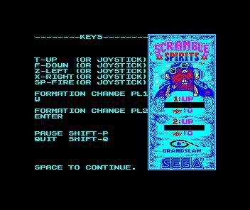 Scramble Spirits screenshot