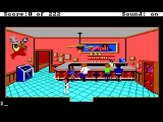 Leisure Suit Larry in the Land of the Lounge Lizards screenshot