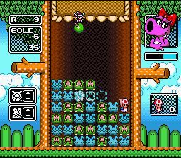Wario's Woods (1994) screenshot