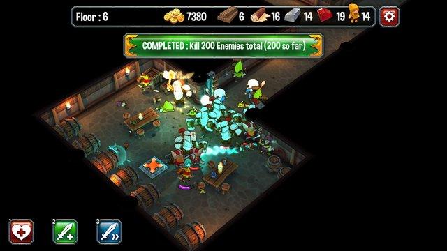 Super Dungeon Run screenshot