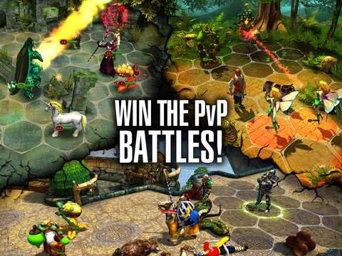 King's Bounty: Legions (RPG) screenshot