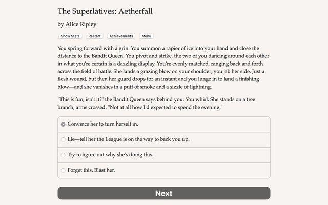 The Superlatives: Aetherfall screenshot