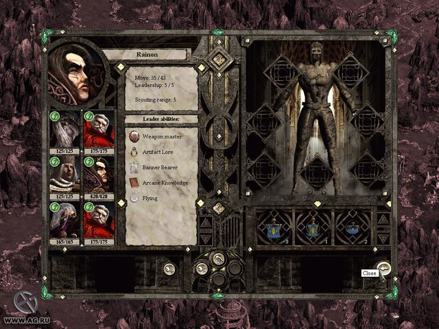 Disciples II: Gallean's Return screenshot