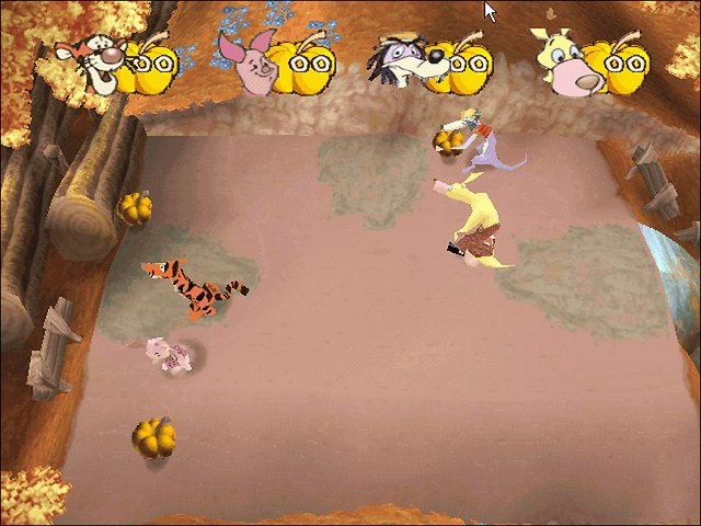 Party Time with Winnie the Pooh screenshot