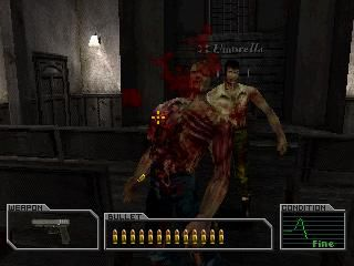 Resident Evil Survivor screenshot