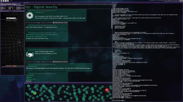 Hacknet screenshot