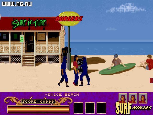 Surf Ninjas screenshot