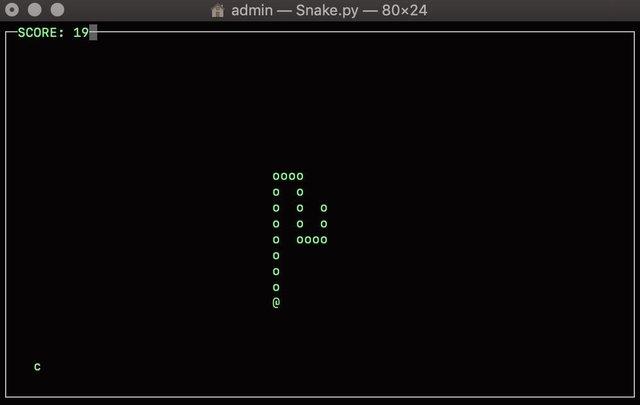 Snake (itch) (MIC129) screenshot